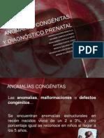 ANOMALÍAS CONGÉNITAS Y DIAGNÓSTICO PRENATAL