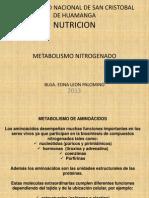 Metabolismo de Proteinas 1
