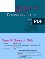 Sunsilk Gang f Girls( Group No-5)