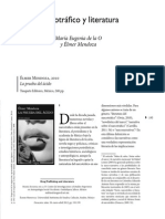 MENDOZA, Élmer; O, María Eugenia de la. Narcotráfico y literatura