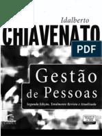 Idalberto Chiavenato - Gestão De Pessoas, 3ª Edição - Livro Completo