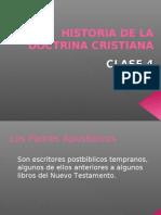 Historia de La Doctrina Cristian a 4 Ppt