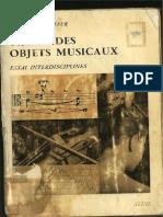 Pierre Schaeffer - Traite Des Objects Musicaux-Mobile