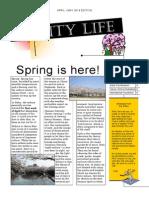 City Life May April Edition