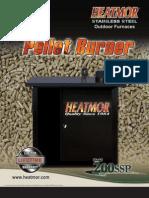 Heatmor Pellet Burner