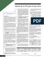 UIT 2014  Decreto Supremo N° 304-2013-EF