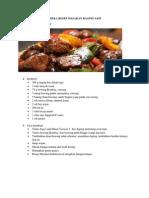 Aneka Resep Masakan Daging Sapi