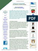 Recent Studies in Parthian History