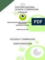 observatorio violencia y criminalidad - Montevideo - Uruguay - Fuente