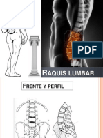 Clase Biomecanica Raquis Lumbar