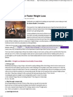 15 Small Changes for Faster Weight Loss _ Who Knew_ - Yahoo Lifestyle India