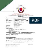 April 26th School_Village_Class Bookings