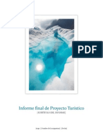 Informe Final de Proyectos Turisticos