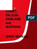 Shop Manual Mustang 65