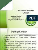 2. Parameter Kualitas Limbah
