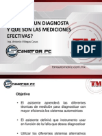 1 - Mediciones Electricas (Nivel Diagnosta)