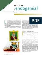 Endogamia en Maiz