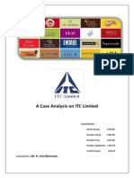 A Case Analysis on ITC Limited