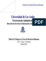 ULA - Sistema de Gestion de Recursos Humanos