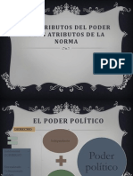 Los Atributos Del Poder y Los Atributos de La Norma