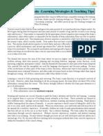 SPOTS Manual 4 Learning Strategies