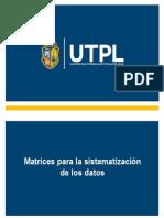 Sistematizacion de Datos