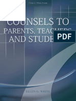 Counsels to Parents, Teachers and Students