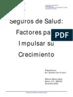 Seguros de Salud enMéxico - Nov 2005