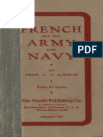 French for Army and Navy - A.D. Ainslie