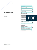 PC Adapter USB - Manuale
