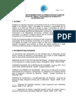 Anexo No. 11 - Requisitos Minimos Planes de Emergencia
