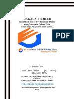 Boiler Pipa Air (Water Tube Boiler)