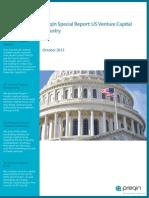 Preqin - Special Report US Venture Capital (Oct2013)