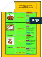 Programme of Activities 2009 2010