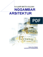 Bahan Ajar Menggambar Arsitektur