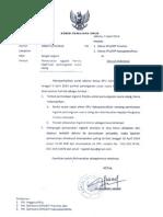 SURAT EDARAN NOMOR 308/KPU/IV/2014
