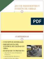 DIPLOMADO DE RESIDENTES Y SUPERVISIÓN DE OBRAS
