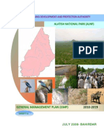 Alatish national park General management plan draft
