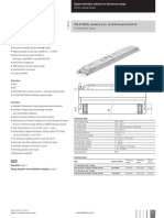 Tridonic Digital Dimmable Ballast Data Sheet