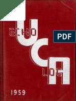 UCA 1959 Echo Log