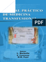 Manual Pratico de Medicina Transfusional