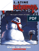 Beware, The Snowman - R. L. Stine