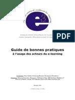 Guide de bonnes pratiques à l'usage des acteurs du e-learning