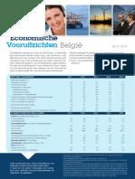 Economische Vooruitzichten België - April 2014