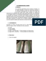 La Corrosion Del Acero