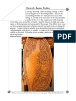 Decorative Leather Tooling