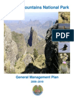 Simien Mountains National Park Management Plan