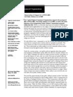CREO Public Defense Act of 2009 Memo