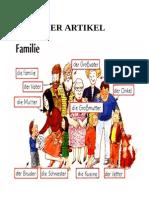 Der Artikel ; Die Familie