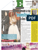 Espectáculos 11 de abril 2014